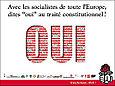 Le Oui des socialistes européens