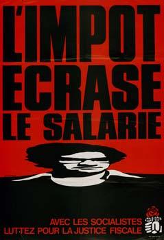 L'impôt écrase le salaire